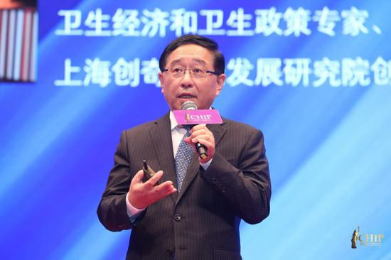 卫生经济和卫生政策专家、上海创奇健康发展研究院创始人和执行理事长蔡江南教授