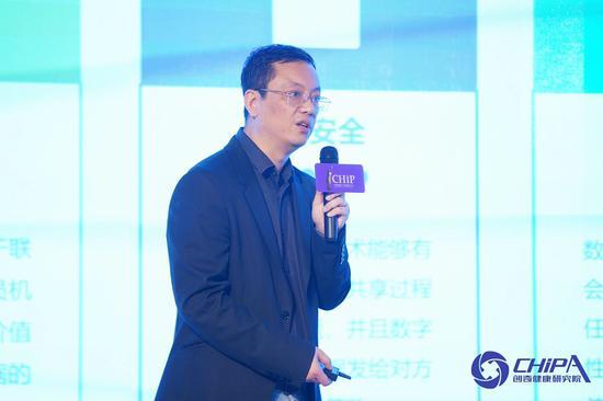 卫宁健康科技集团股份有限公司区块链负责? 冯东雷博士