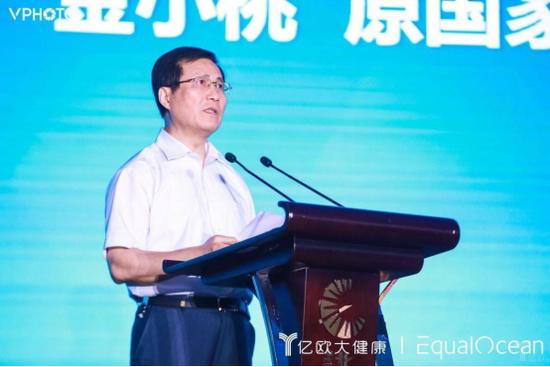 原国家卫计委副主任、党组成员,中国卫生信息与健康医疗大数据学会会长金小桃