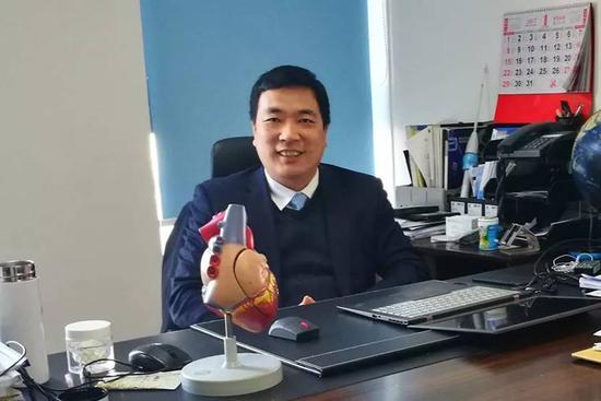 纽脉医疗董事长 首席执行官 虞奇峰