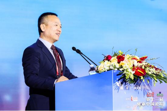 武田中国总裁单国洪先生发表主旨演讲