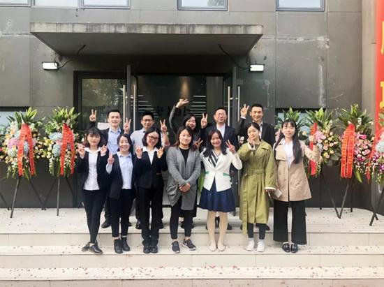 活动现场,晟唐创业孵化部分团队照片