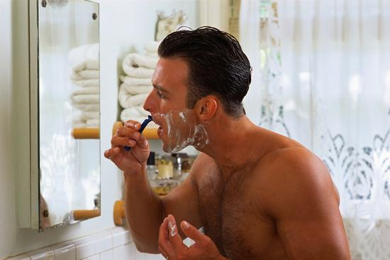 两个时间别刮胡子|胡子|运动|洗发液