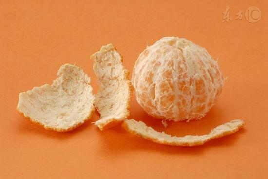 橘子皮泡脚有奇效