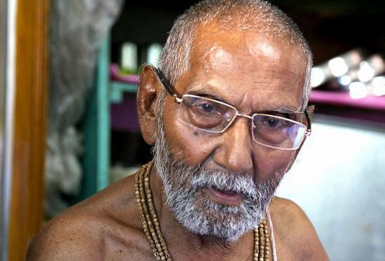印度120岁僧人揭长寿秘诀:保持童子之身(图)