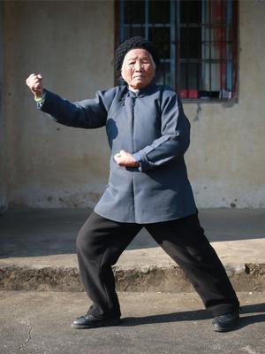 浙江94岁功夫奶奶 曾当武教头单挑恶霸