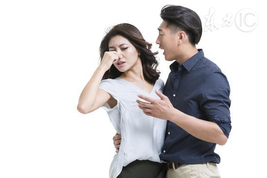 口臭可能是六种疾病信号