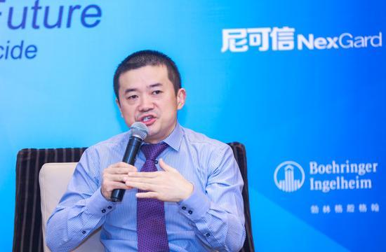 勃林格殷格翰中国动物保健宠物营业负责人王德谋答媒体问