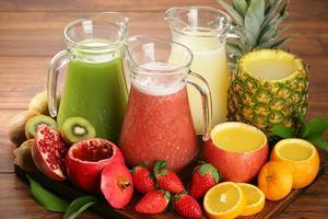 熬夜族不能少的水果和果蔬汁