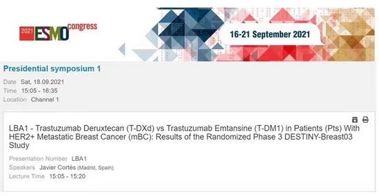 乳腺癌患者新希望!T-DXd与T-DM1头对头研究DESTINY-Breast03获得显著阳性结果