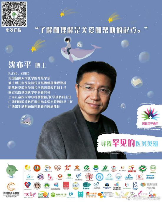 美國醫學遺傳學專家委員會委員沈亦平博士