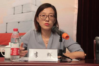宁波市疾病预防控制中心慢病所所长李辉