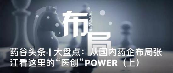 张江药谷微信号策划专题