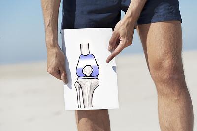 一个动作养护膝关节