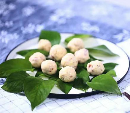 古人食:豆腐球
