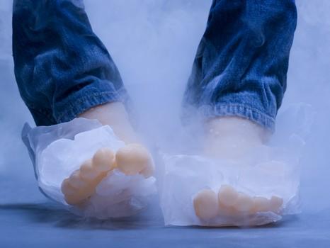 警惕手脚冰凉易患癌