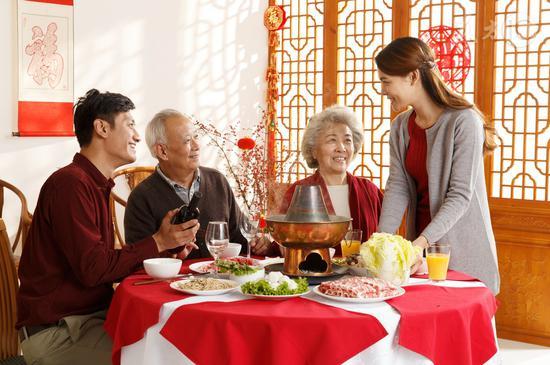 春节吃饭牢记四点