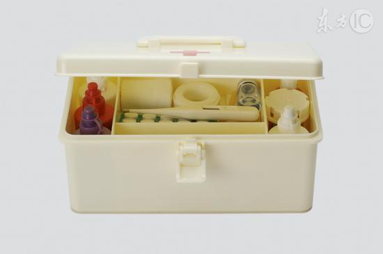 受访者最常在家中储备的药品是感冒药