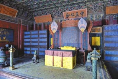 故宫养心殿百年首次大修