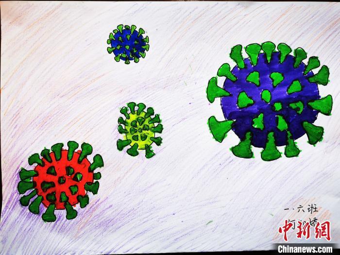 重庆小学生绘画记录抗疫百态