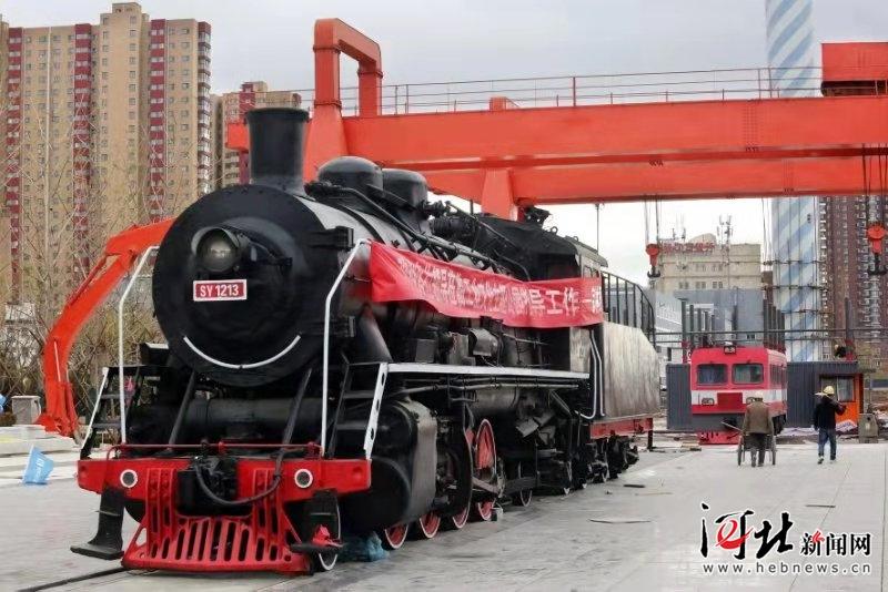 """京张铁路""""老车站""""成张家口""""工业记忆"""""""