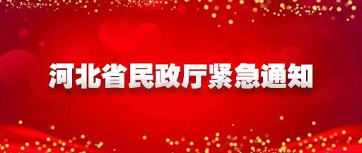 即日起,河北省民政厅对全省养老和儿童福利机构督导检查