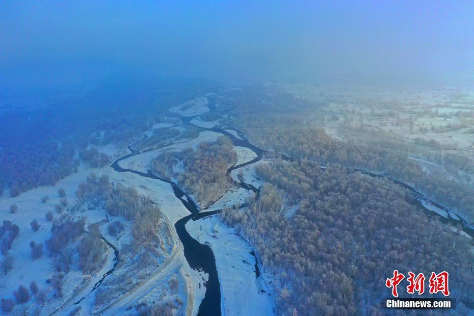 """西藏以西的""""高冷""""冬景"""