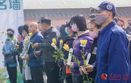 河北省各殡葬服务机构开展绿色文明方式追忆逝者、缅怀先人。 河北省民政厅供图