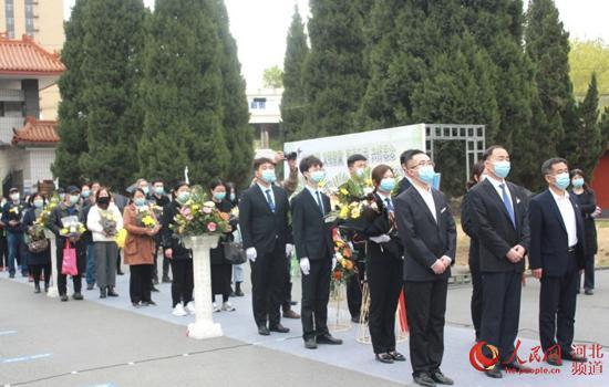 石家庄市民政局举办网络直播共祭活动。 河北省民政厅供图