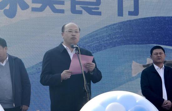 唐山市委常委、市政府副市长、京冀曹妃甸协同发展示范区党工委书记 杨华森 致辞