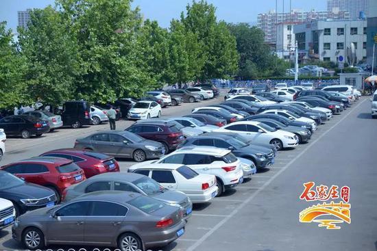 △停车场经过重新规划
