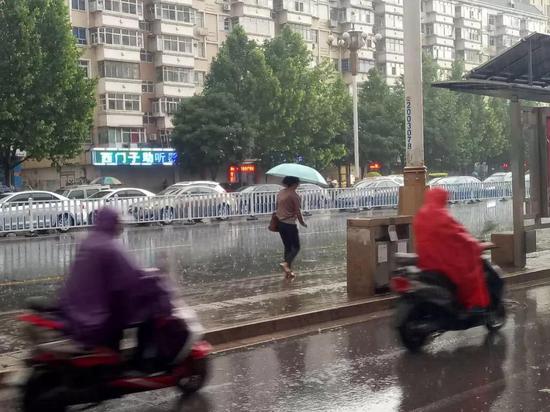 河北西北部暴雨蓝色预警