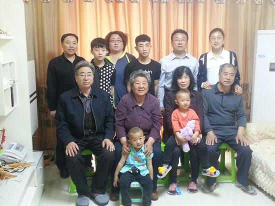 林秀贞家庭。