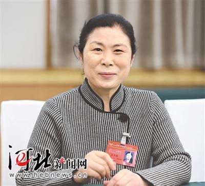 王冬梅委员。河北日报记者赵永辉摄