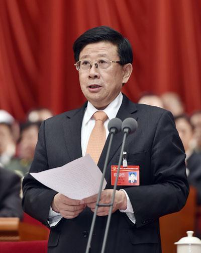 省委书记、省人大常委会主任赵克志主持会议并讲话。河北日报记者 孟宇光 赵威摄