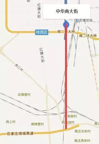华大街南北延伸规划 第二迎宾大道将贯穿南北
