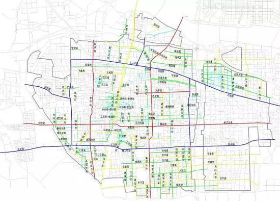 重磅 石家庄主城区5年规划修建100条道路