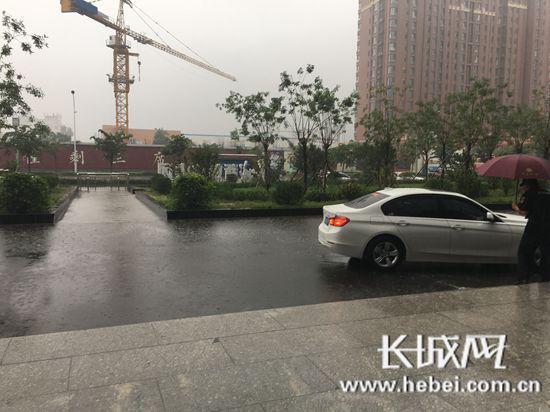 唐秦降大到暴雨局部大暴雨 局地雨量超100毫米