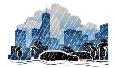 河北周末雷雨频扰 5地预计有中到大雨