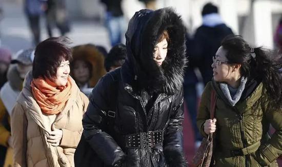 29日大部地区最低温下降