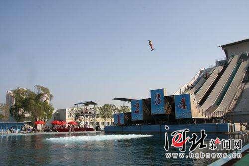 位于秦皇岛的国家体育总局训练基地内的水池训练场。 河北省体育局冬季运动管理中心供图