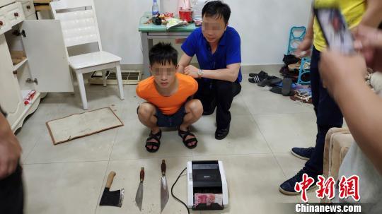 广东四市警方摧毁一个特大跨国武装贩毒团伙 警方供图