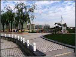 衡水新建一高规格公园 篮球足球网球等一应俱全