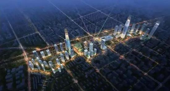规划中的中央商务区具体范围在哪?