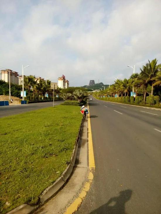 儋州市区。