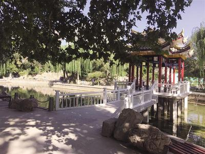 提升改造后的平安公园