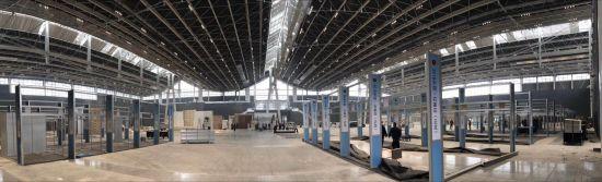 新建成的石家庄国际会展中心内景。 石家庄市委宣传部供图