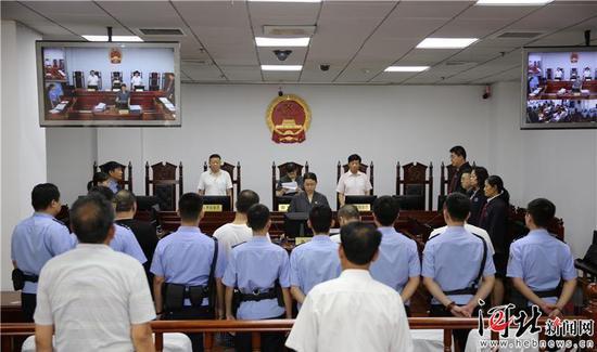 6月26日上午,唐山市丰南区人民法院对被告人戴某某等4人运输毒品罪一案进行公开宣判。 河北省高级人民法院供图