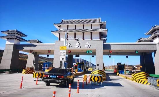 太行山高速通车路段收费站开通情况