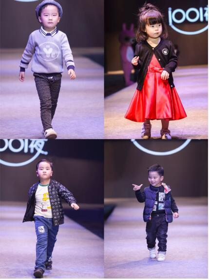 只要一副孩子的画,经服装设计师提取出画中元素加以二次设计开发并